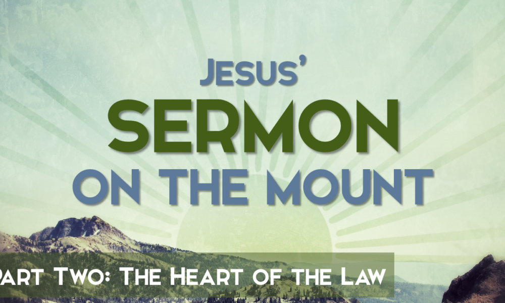 """2-25-2018 """"The Heart of the Law"""" Rev. Jonathan Hart"""
