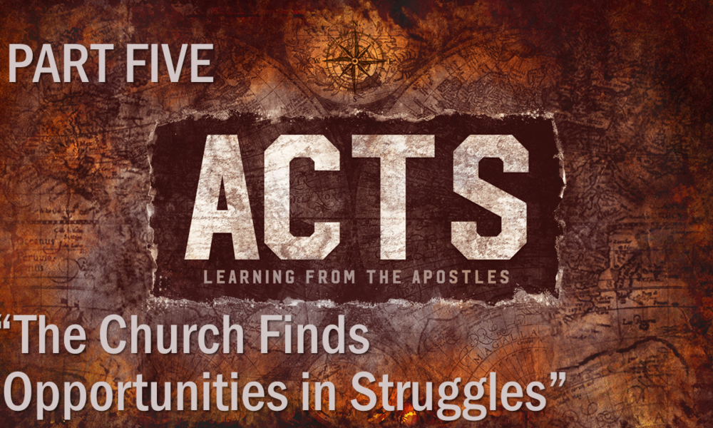 "6-17-2018 ""The Church Finds Opportunities in Struggles"" Rev. Jonathan Hart"