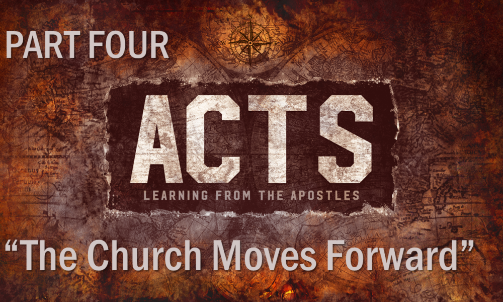 "6-10-2018 ""The Church Moves Forward"" Rev. Jonathan Hart"