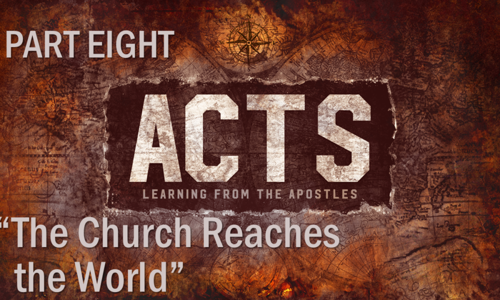 "7-8-2018 ""The Church Reaches the World"" Rev. Jonathan Hart"