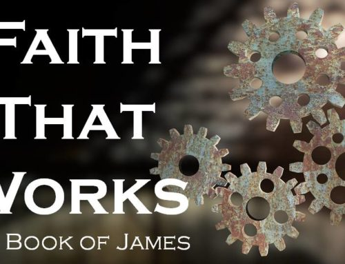 "8-4-2019 ""Faith that Works"" Rev. Jonathan Hart"