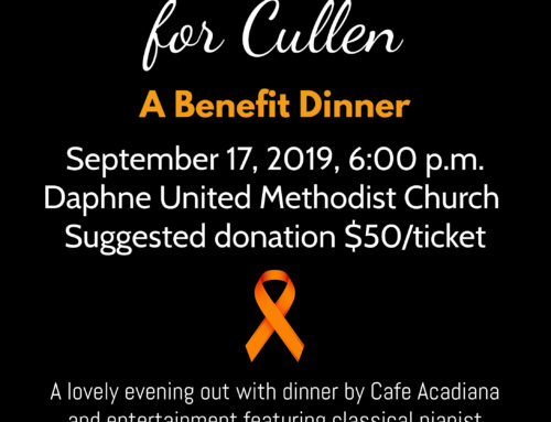 Save the Date! Big Night Out for Cullen: A Benefit Dinner